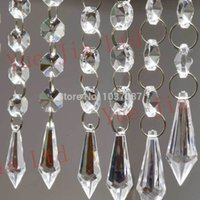 acrylic crystal hanging ornaments - strands quot Acrylic Crystal Garland Chandelier Hanging Bead Chains