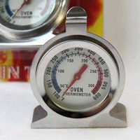 Wholesale 1pcs Hot Food Meat Stainless Steel Stand Up Oven Cooker Thermometer Temperature Gauge