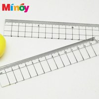 Wholesale Cloth Tools Patchwork Sewing Feet Tailor foot Yardstick Cuting Cutting Quilting Rulers