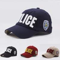 Wholesale High Quality Police Cap Unisex Military Hat Baseball Cap Men Snapback Caps Basketball Adjustable Sports Snapbacks For Adult
