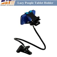Wholesale 60pcs degree Flexible Arm mobile phone holder Lazy People Bed Desktop tablet useful for iphone s Android samsung glaxy s3 s4 NOTE