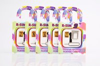 RSIM R SIM R-SIM 9+ R SIM 9 PLUS nano EXtreme 0.2MM Thin Card Unlock cloud Pour Iphone 6 5 5C 5S IOS 5.x IOS 8.x Sprint IOS 7 DHL gratuitement