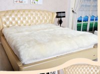 Wholesale Pure wool mattress Australian sheepskin bed plate True fur one A single double bed upset the student s dormitory