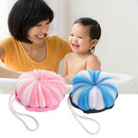 baby bathing accessories - 2 Colors Baby Bath Soft Sponges Brushes Bathing Accessories Skin Care Blue Pink x x cm MTY3