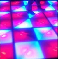 Wholesale LED Brick Light Super bright floor Unlimited change Disco Preferred Thick crust RGB color DMX control color