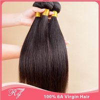 30 inch hair extensions - AAAAAA RY hair products peruvian virgin hair straight top quality inch can be dyed cheapest hair extensions