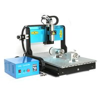 Sólo por hoy la máquina de grabado 1500W 3 ejes puerto USB con el fregadero del agua 3D Mini refrigerado por agua CNC Router 6040
