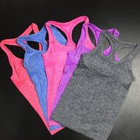 best yoga clothing - Fashion Women Colors S M L Yoga Shirt Best Price New Arrival Fitness Clothes Yoga Fitness Vest Exercise Shirts