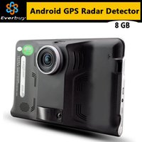 Wholesale New inch Android Car GPS Navigation dvrs Camera Recorder Truck vehicle gps Navigator Tablet PC Europe or Russia Navitel map A3