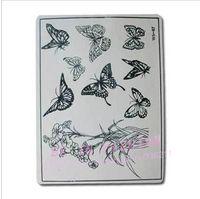 Wholesale 24PCS Fake Tattoo Practice Skin Sheet for Needle Machine Supply Kit accesories flower tiger design kits beginner