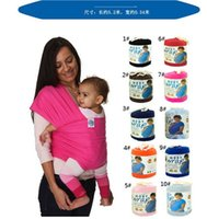 Wholesale 10 Colors Kid Wrap Kid s Slings Baby Carrier Gears Strollers Gallus Baby Carrier Towels wrap wraps coulorful supply