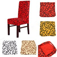 Wholesale Home Stretch Short Removable Dining Room Stool Chair Cover Slipcovers Flat Paddy