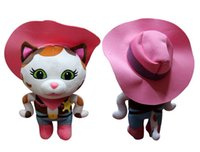 Wholesale Sheriff Callie s Tales of the Wild West Callie Cat Toys Cartoon Plush Action Figures Children s Christmas Gift Dolls