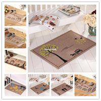 bath and linens - factory living room bath mat cotton linen mat home office doormat cm