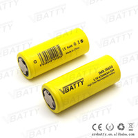 Wholesale Vbatty IMR battery A mah rechargeable batteries lithium battery for electronic cigarette