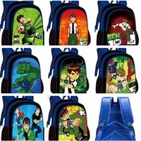 ben bag - BEN Handsome kids Fashion lovely Backpacks Lightening Breathable Children s Bags high quality backpack