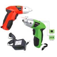 Wholesale 4 V rechargeable electric screwdriver small Drill Driver Cordless sleeve Power Tools cordless drill electric drill