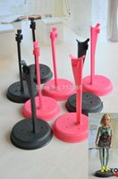 Wholesale 2014 New hot selling Doll Stand Display Holder For Barbie Dolls Monster High dolls doll s accessories