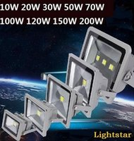 Wholesale Led Floodlight V W W W W W W W W LED Landscape Led Outdoor Flood Light Waterproof led lamps FEDEX free ship