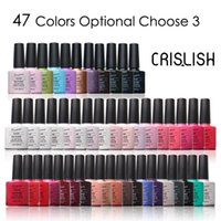Cheap Choose 3 Colors From 73 Crislish Uv Gel Nail Polish Kit Professional Soak Off Varnish Long-lasting Gel Polish Set Styling Tools