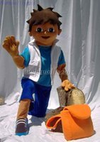 Wholesale on sale fast shipping lowest price high quality diego mascot muppet Costume