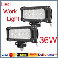 led light bar - Low Price quot W Cree LED Work Light Bar Tractor Boat Offroad WD x4 v v Truck SUV ATV Spot Flood Beam Working Lamp
