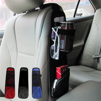 Wholesale Hot Sales Car Seat Side Multi Pocket Pouch Organizer Storage Bag Oxford Cloth Travel Tidying Size CM BX250