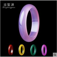 jade bracelet - Natural Jade Bracelet Color chalcedony Agate Bracelet The width is mm the diameter of mm mm the Thickness mm