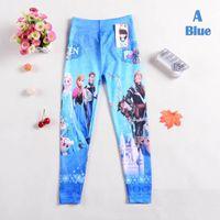 Cheap Frozen Childrens Leggings Best Anna Elsa Tights Pants