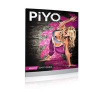 Wholesale Cheap Piyo DVD fitness supplies workout dvds movies DVDs fitness videos Chalene Johnsons PIYO Base Kit Exercise Videos Nutrition Guide