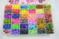 Cheap Unisex rainbow loom Kit Best 8-11 Years Multicolor DIY Bracelet
