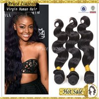 Brazilian Hair Body Wave natural black Wholesale -100% brazilian unprocessed cheap remy human hair 100g pcs TOP quality 6A grade body wave