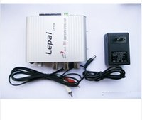Wholesale 2 Channel Stereo Mini Computer Audio Car Amplifier Super Bass Subwoofer Out A power adapter Lepai LP Amplifiers