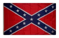 Wholesale New cm USA Confederate Rebel Civil War Flag National Polyester Flag Banner Printed Flag X3FT D by dhl