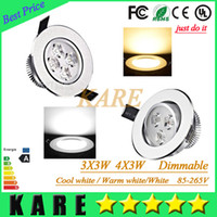 12W beds retail - Retail High power Dimmable Led downlight W W Led Bulb V LED lighting bulb led spotlight with led driver
