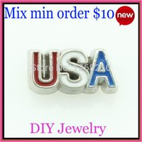 live in usa - NEW ARRIVE USA floating charms locket charms for floating living locket fit in origami owl lockets