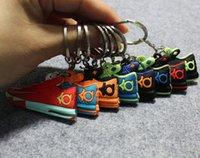 shoe chains - Durant KD fans keychain pendant shoe keychain Durant Fans Pendant Basketball Shoes Key Chain