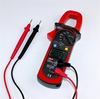 auto voltage meter - HOT SALE UNI T UT204 True RMS Auto Range A Digital Clamp Meters w Frequency Test Highly Voltage Tester Multimeter