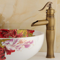 bathroom basin faucet - and retail Copper basin faucet Kitchen bathroom faucet Single hole of cold faucet Retro style Hat Their style