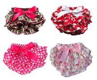 ruffle panties - Cute Baby Girl Ruffle Panties Chiffon Pettiskirt TUTU style underwear the shorts for kids Free Shippng