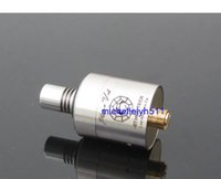 sinks stainless steel - E Cig Plume Veil Style RDA V3 Stainless Steel brass Rebuildable Dripping Atomizer with heat sink drip tip Vaporizer