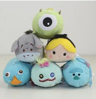 Wholesale New Tsum Tsum Mini Plush Anpanman Baikinman Soft Toy Children Cute Gift Tsum Collection Doll Toys Screen Cleaner for Juguetes Set