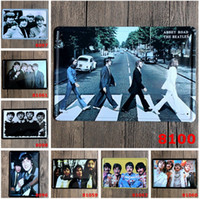 Wholesale cm Metal Tin Sign Beatles Retro vintage Classic Tin Bar pub home Wall Decor Retro Tin Poster