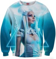 beautiful game characters - w151212 Mikeal Game d hoodies men women print beautiful sexy angel girl d sweatshirt mens Hoodie hoodies tops B1