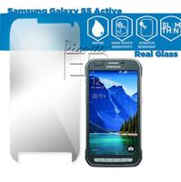 active films - S6 active S5 active S6 Tempered Glass SAMSUNG A3 A5 A7 S3MINI S4MINI S5MINI NOTE EDGE GRAND PRIME Screen Protector Bubble for Glass Film
