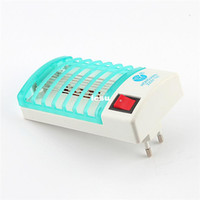 Wholesale 220V V Mosquito Fly Bug Insect Trap Zapper Repeller LED Electric Killer Night Lamp
