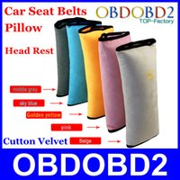 Wholesale Good Price For Children Pad Protection Head Rest Pillow Cutton Velvet Color Optional Car Pillow Safety Cushion Bedding