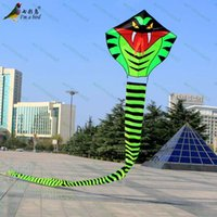 Wholesale Outdoor Fun Sports m Power Snake Kite Good Flying For Hallowmas