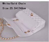 Wholesale 2016 newest style designer white chain fashion bags handbag shoulder bags Totes women pu leather handbag purse yzs168