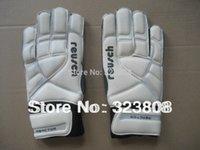 Wholesale goalkeeper gloves soccer gloves football goalkeeper gloves Reusch double faced latex quality goalkeeper gloves